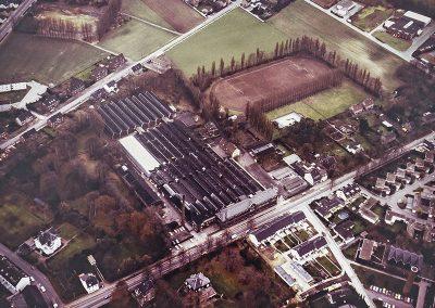 Becker+Bernhard-Werksgelände in der Luftaufnahme