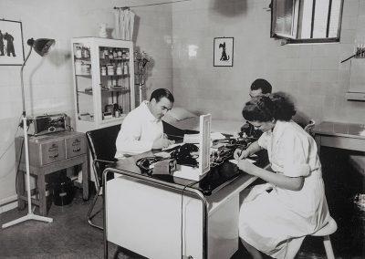 Kleine Arztpraxis im Becker+Bernhard-Werk