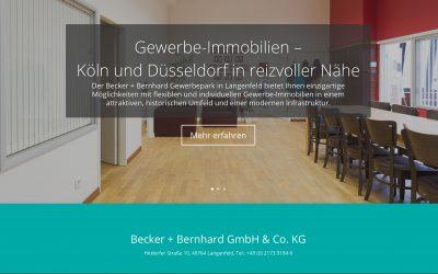 Relaunch der Becker Bernhard Webseite ist fertig!